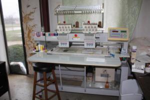 14 small Melco machines