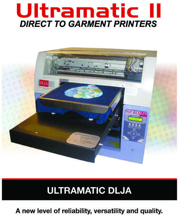 Ultramatic DLJA Garment printers